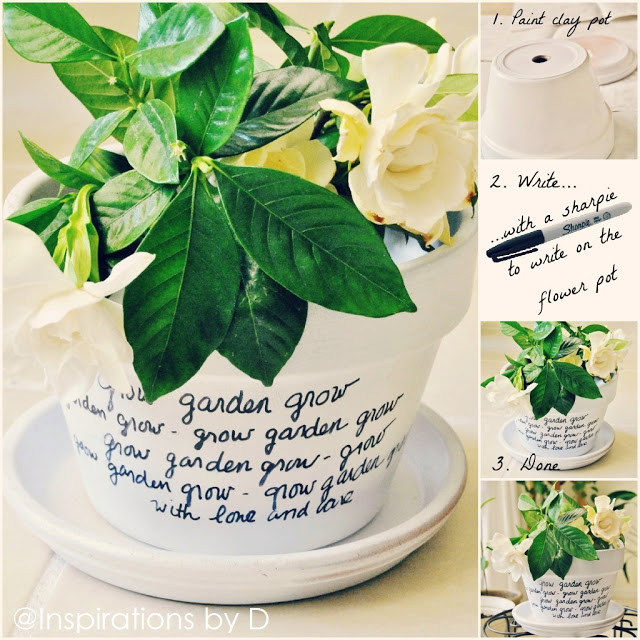 Message Flower Pots